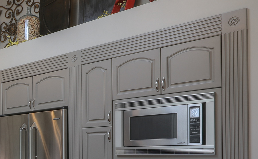 Kitchen Cabinet Refinishing details