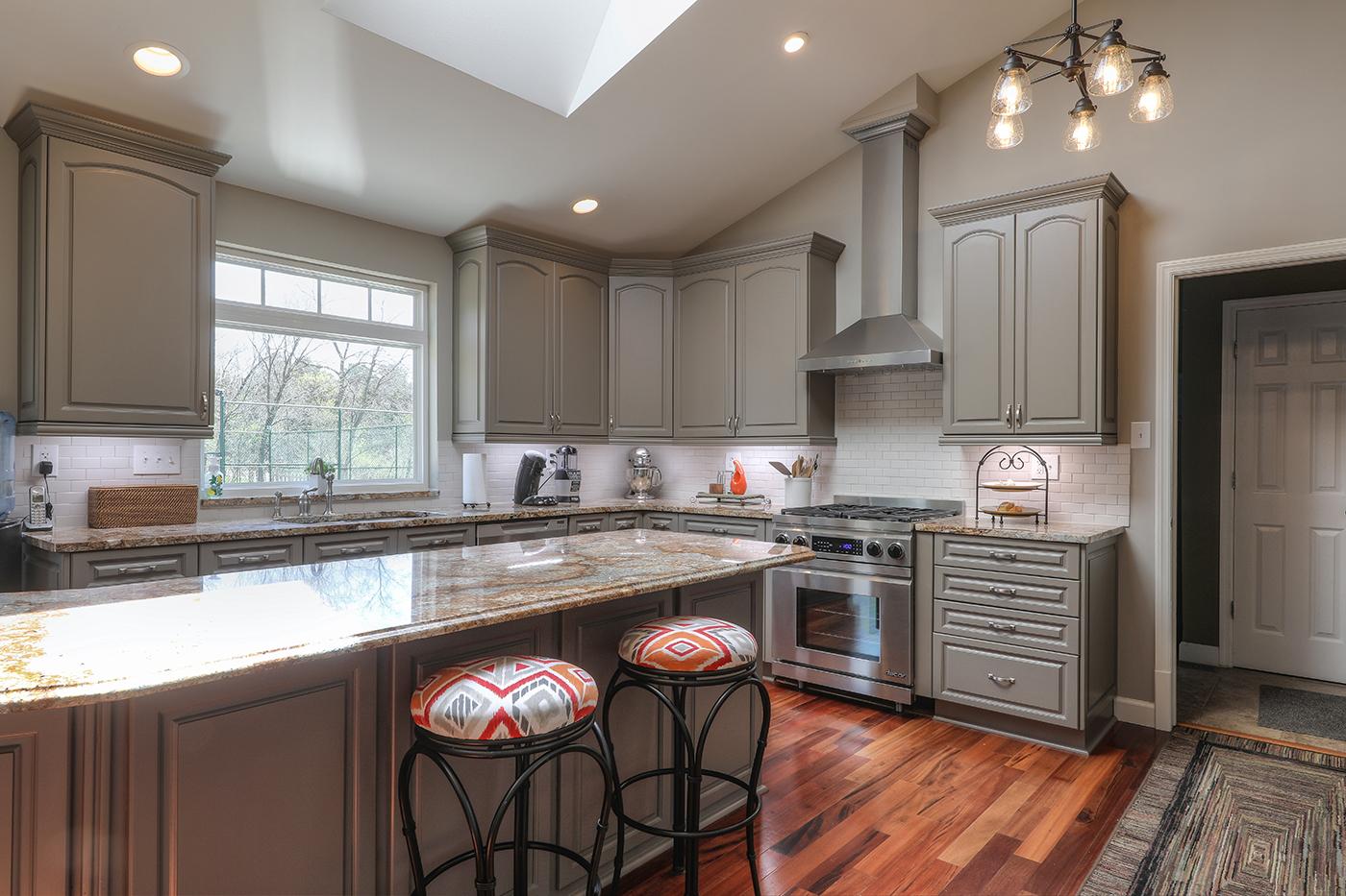 Image of: Kitchen Cabinet Refinishing Fenton Mo Kathy Arnold Painting Remodeling