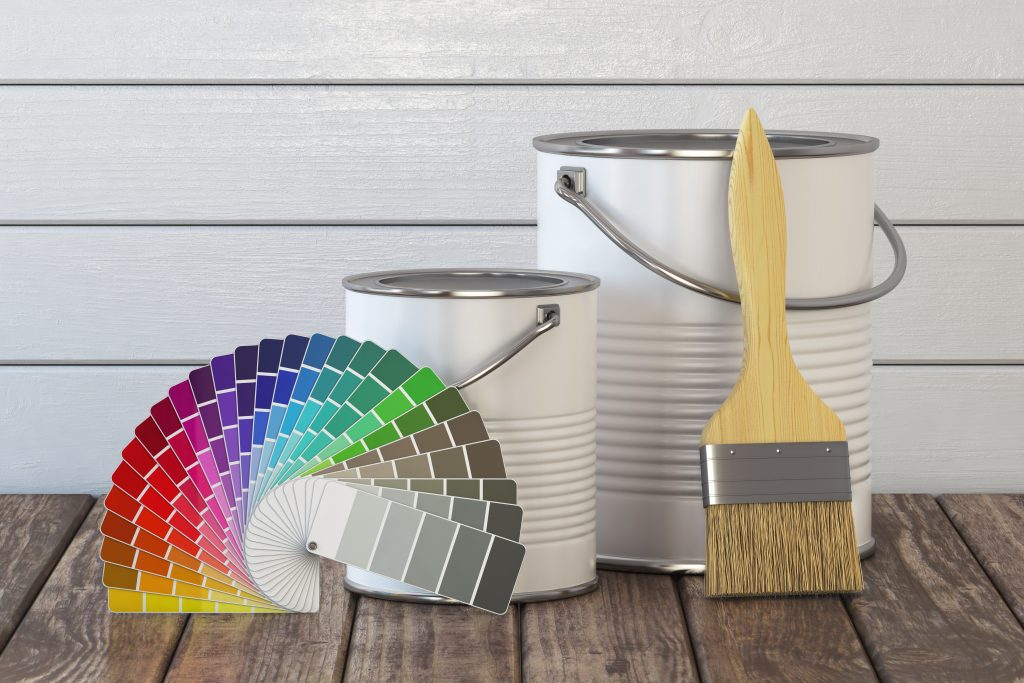 Painting the walls - Interior Painting Contractor St. Louis